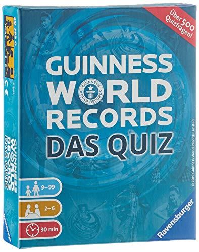 Ravensburger 20793 - Guinness World Records - Das Quiz, 500 Fragen, Wissensspiel für 2-6 Spieler, Quizspiel