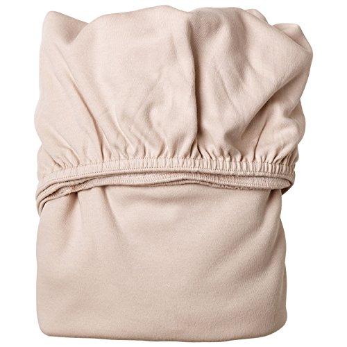 Leander Doppelpack weiches Jersey-Bettlaken für Babybett (soft pink)
