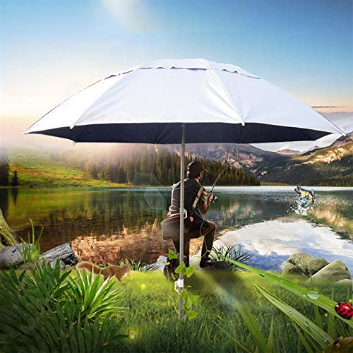 ZXL Mbrellone da Giardino, 5,3 Ft Ombrellone da Esterno Regolabile Ombrellone Ombrellone da Giardino Nuovo Ombrellone inclinabile Ombrellone inclinabile Protezione Parasole