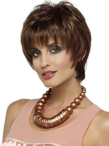 ahom (besoin de melange court perruque perruque kanikalun Mesdames perruque Parti Fashion quotidien naturel