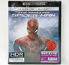 The Amazing Spider-Man (4K UHD + Blu-Ray) (Hong Kong Version / Chinese subtitled) 蜘蛛俠: 驚世現新