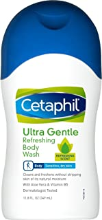 Cetaphil Ultra Gentle Refreshing Body Wash, 11.8 Ounce