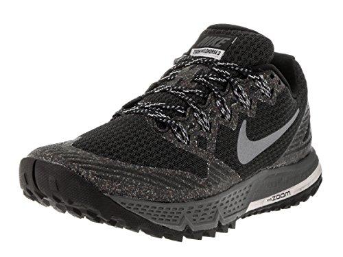 Nike Women's Air Zoom Wildhorse 3 Running Shoe Black/Wolf Grey/Cool Grey/Dark Grey 6 B(M) US