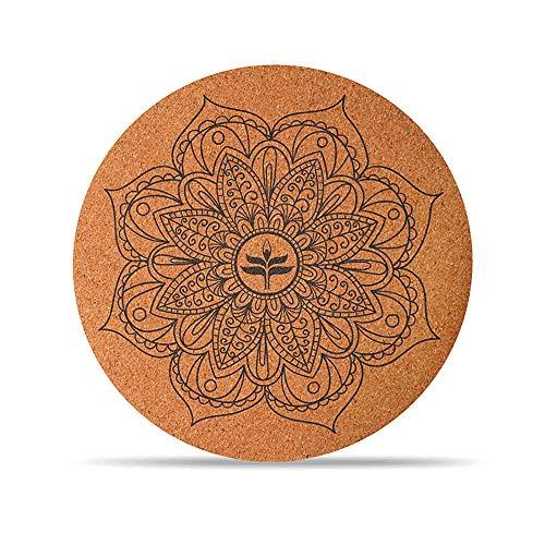DZX Yoga Meditationskissen/Faltbare rutschfeste Yogamatte, Tolle Meditation, Stress- Und Angstentlastung - Perfektes Spirituelles Geschenk (65x65 cm),B