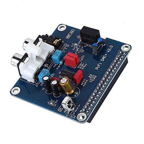 SODIAL PIFI Digi DAC + HIFI DACオーディオサウンドカードモジュール I2Sインターフェース Raspberry pi 3 2モデルB B+ デジタルオーディオカードピンボードV2.0 ボードSC08の為