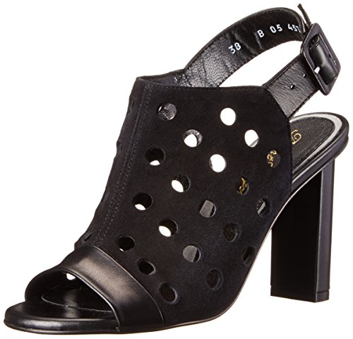 Robert Clergerie Women's Lioro, Black Calf, 36.5 EU/6 B US