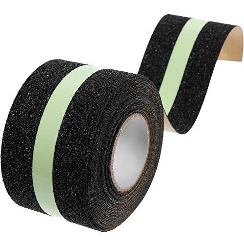 luminoso cinta antideslizante cinta adhesiva tira de brillante escalera paso cinta adhesiva para el suelo