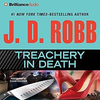 Treachery in Death audiobook cover art