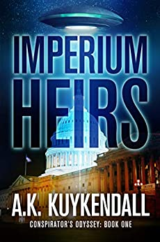 Imperium Heirs: A Sci-Fi Conspiracy (Conspirator's Odyssey Book 1) by [A.K. Kuykendall, Lane Diamond]