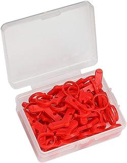 joyMerit ロックステッチ 段数リング 針クリップ マーカーホルダー 段数マーカー 編み物 ハンドメイド用品 約88枚