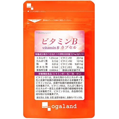 ビタミンBカプセル(30カプセル/約1ヶ月分)【123000190141101】