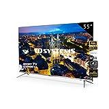 Televisores Smart TV 55 Pulgadas 4K UHD Android 9.0 y Hbbtv...