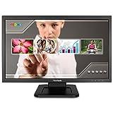 ViewSonic TD2220-2 - Monitor 21,5' Full HD multitáctil (1920 x 1080, 200 nits táctil,VGA/DVI/Hub USB, Altavoces Integrados y un diseño de Montaje VESA), Color Negro