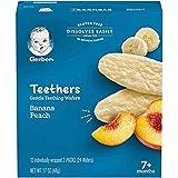 Gerber Teethers Gentle Teething Wafers - Banana Peach, 6 Count