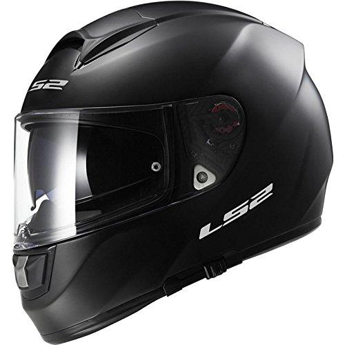 LS2FF397Vector Full Face Motorrad Helm–Matt Schwarz
