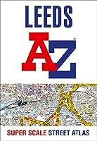 Leeds A-Z Super Scale Street Atlas: A4 Paperback