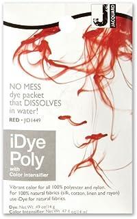 Jacquard iDye Red Synthetic Fiber