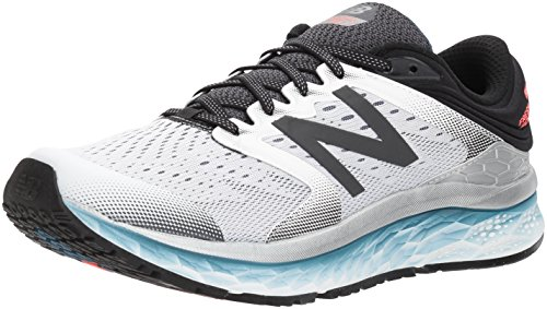 New Balance 1080v8, Zapatillas de Running Hombre, Blanco/Negro (White/Black), 45 EU