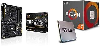 Pack Placa Base ASUS y Procesador AMD:TUF B450-PLUS Gaming y AMD Ryzen 7 2700X