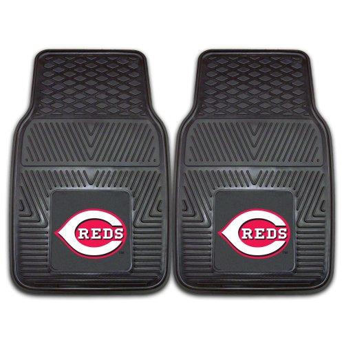 Fanmats 8834 MLB-Cincinnati Reds Vinyl Universal Heavy Duty Fan Floor Mat