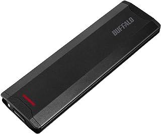 バッファロー SSD 外付け 250GB コンパクト USB3.1(Gen2) 高速転送1000MB/s 【Windows/Mac/PS4 メーカー動作確認済み】 SSD-PH250U3-BA