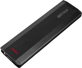 BUFFALO USB3.1(Gen2)対応 ポータブルSSD 1TB ブラック SSD-PH1.0U3-BA