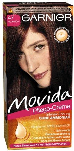 Garnier Movida capelli colore tinta Intenso, 47Wild Cherry