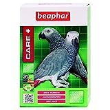 BEAPHAR – CARE+ – Alimentation Super Premium extrudée, équilibrée pour perroquet gris du Gabon – 97% d'ingrédients biologiques – Nutriments naturels préservés – Répond aux besoins des oiseaux – 1kg
