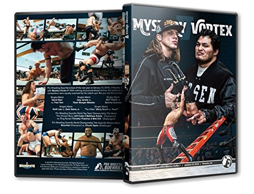 Official Pro Wrestling Guerrilla PWG - Mystery Vortex V (5) 2018 Event DVD