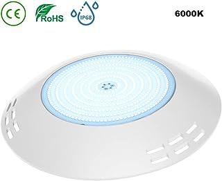 LyLmLe Foco LED Piscina Relleno de Resin,35W Lámpara