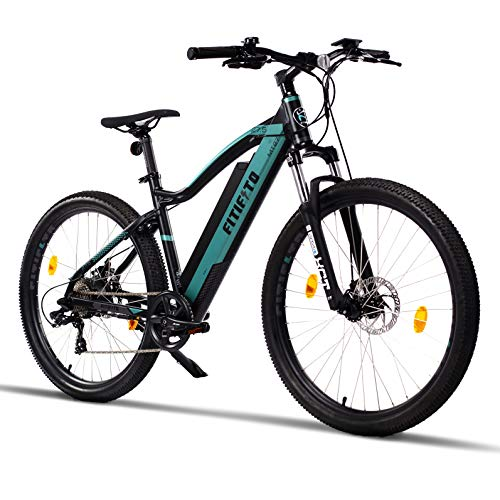 Fitifito MT27,5 Elektrofahrrad Mountainbike E-Bike 48V 250W Heckmotor; 48V13Ah 624W Lithium-Ionen mit USB Anschluss*