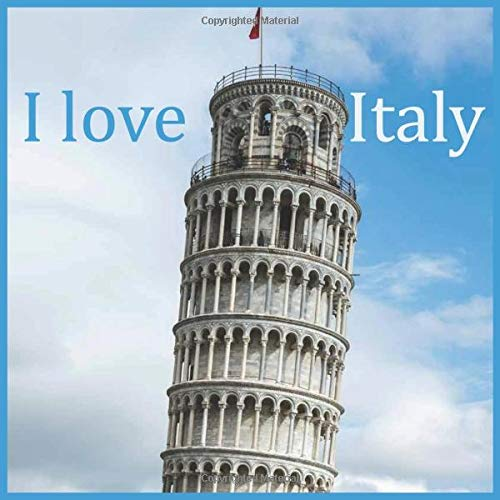 I love: I love italy:2021 Wall & Office Calendar, 12 Month Calendar