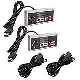 Link-e : 2 X Controlador De Juegos Y Extensión De Cable Compatibles Con La Consola Nintendo Mini / Classic NES