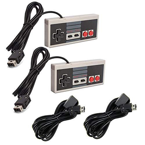 Link-e : 2 X Controller E Cavo Di Prolunga Compatibili Con La Console Nintendo Mini / Classic NES Edition