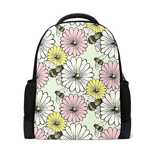 FANTAZIO Mochila Daisy-Beegreen mochila escolar