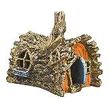 N\A Adorno de pecera Adornos de Acuario Cueva de Resina Adecuado para Accesorios de decoración de pecera (casa del árbol)