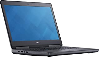 Dell Precision 7510 Mobile Workstation Laptop, Intel Xeon E3-1505M v5, 32GB DDR4, 512GB Solid State Drive, Windows Pro 10 PRM7510-33889 (Renewed)