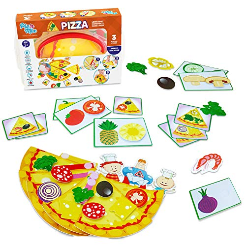 Picnmix Pizza Puzzles for Kids Matching...