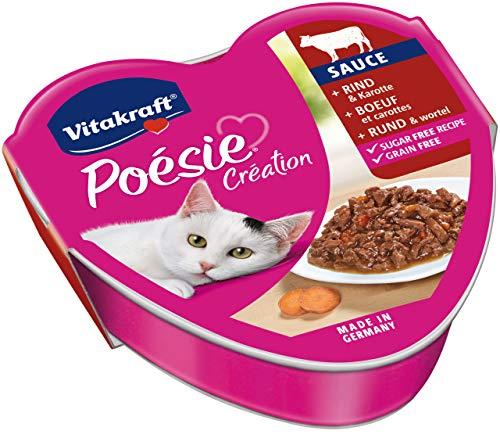 Vitakraft pour Chat Bœuf et Carotte en Sauce Sauce