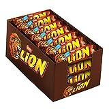 Nestlé Lion Trio Snack con Wafer Toffee e Cereali Ricoperti di Cioccolato al Latte, Confe...