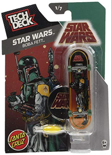 TECH DECK (テック デッキ) 96mm Vol.6 / Santa Cruz / STAR WARS BOBA FETT 20049645