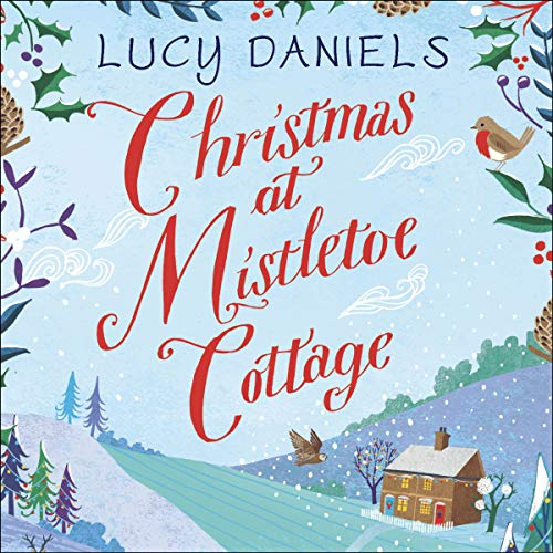 Page de couverture de Christmas at Mistletoe Cottage