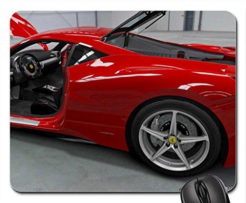 Ferrari 458 Italia '2010 Mouse Pad, Mousepad (10.2 x 8.3 x 0.12 inches)