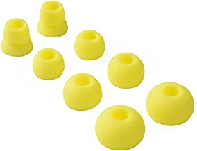 Replacement Silicone Ear Tips Earbuds Buds Set for Powerbeats 2 Wireless Beats by dre Headphones,4 Pairs (Yellow)