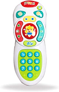 Anniston Kids Toys, Baby Electric Light Music Smart Mobile Phone Remote Control Educational Toy Learning & Education Perfe...