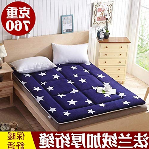 YLCJ opvouwbare matras, draagbaar, bekleding, voor vloeren met pool, vochtbestendig, pad-B 150 x 200 cm, 59 x 79 cm