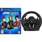 F1 2021 - PS4 + HORI - Volante Apex (PS4/PS3/PC)