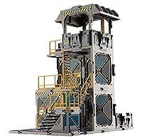 [AC]FreshRetro SIB02 アクション フィギュア用 3D シーン道具 組立式 自由改造 防御見張り塔