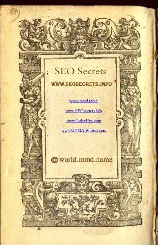 SEO secret(8) (English Edition)