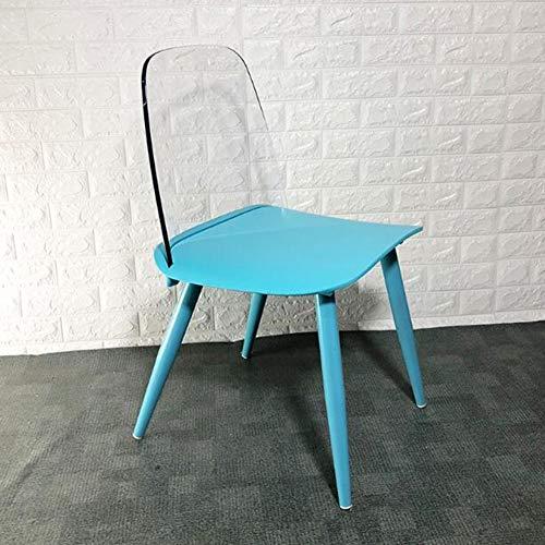 Dining Chairs Sillas de Comedor CJC con Patas de Metal PP para Cocina, encimera, Oficina, Sala de Estar, sillas de salón